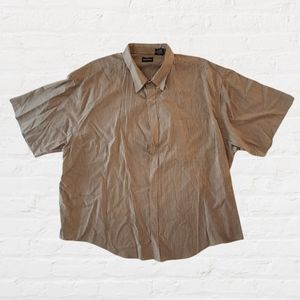Puritan Short Sleeve Button Up 3X